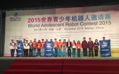 Robotics Team Wins Championship in China