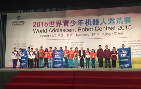 Robotics Team Wins Championship in China