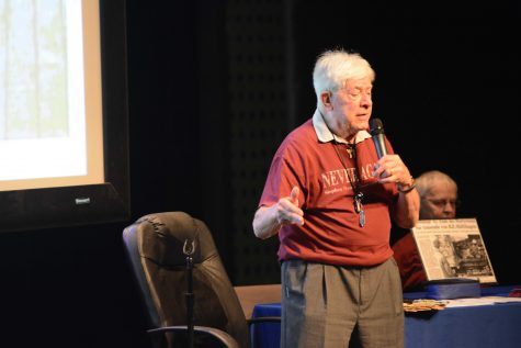 Holocaust Speaker's Emotional Accounts Captivates Audience