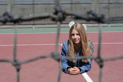 SJHHS Girls Tennis Rallies under Milana Molnar