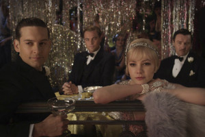 THE ROARING TWENTIES: The classic returns with modern actors Toby Maguire, Leonardo Dicaprio, Carey Mulligan, Joel Edgerton. (Pictured above; left to right) The Great Gatsby will be released May of 2013. Photo courtesy of blog.zap2it.com