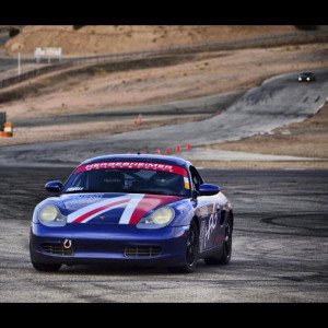 Porsche Club Racer Putting the Pedal to the Medal