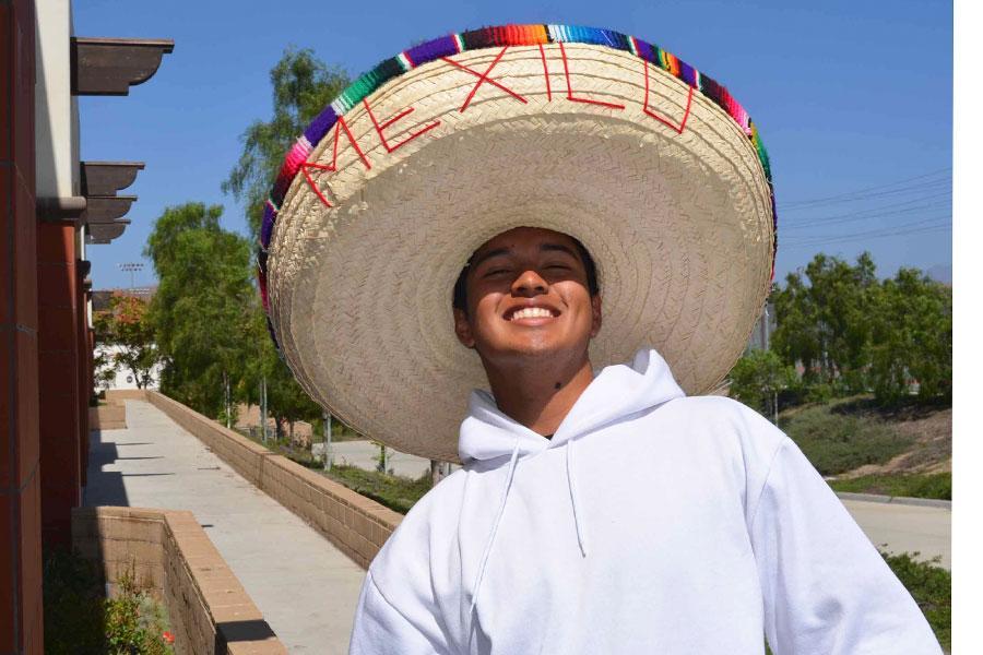Jose+Orzuna+shows+off+his+swag+in+Ms.+Sanchez%27s+sombrero