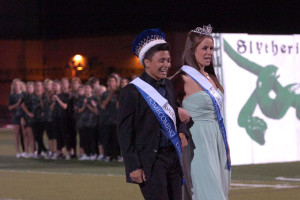 Erin Thompson and Raul Navarro were this year's king and queen.