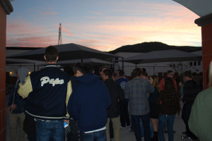 THE RISE OF 2014: In lieu of certain discontinued activities this year, seniors were invited to attend the Senior Sunrise on January 7, kicking off their graduation year. A Senior Sunset will take place on the last academic day of the year before graduation, symbolizing the end of their high school experience.