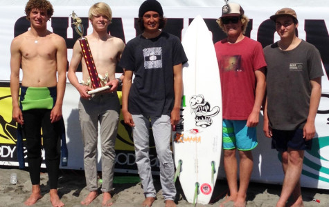 Surf Team Ranks High in CCL Finals