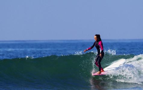 Freshmen Girl Works Toward Three Straight Years of Surfing Daily