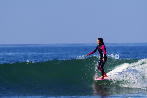 Freshmen Girl Works Toward Three Straight Years of Surfing Daily