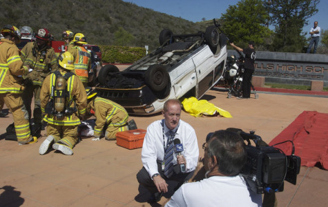 Emotional Mock Car Accident Weakened by Excessive Media