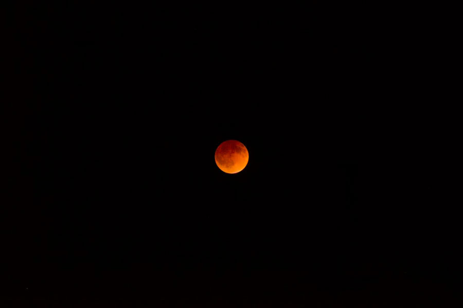 The+Blood+Moon+occurs+during+a+lunar+eclipse.