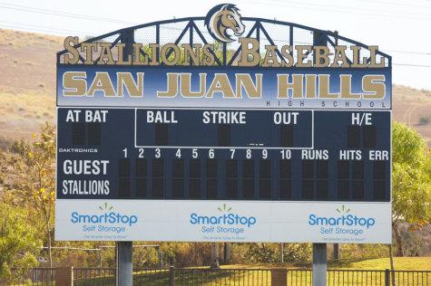 Baseball Scoreboard Installed
