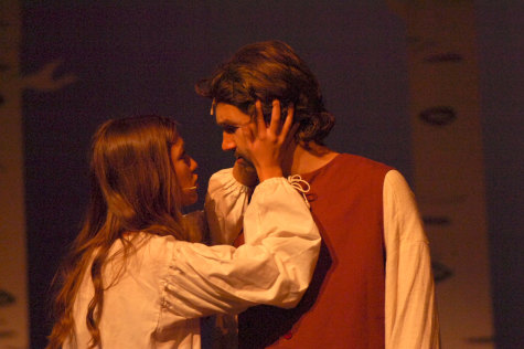 Abigail Williams (Amanda Rooker), who still has hope for a romance with John Proctor (Cole Hendriksen), is denied when he tells her his plan to reveal her murder plot to kill his wife, Elizabeth.