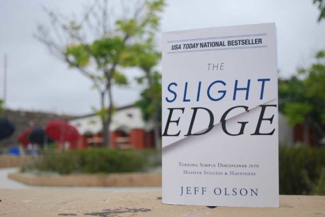 The Slight Edge by Jeff Olsen is an incredible tool that helps people take other self help books and actually put them into action. Photo by Braeden Schmitt