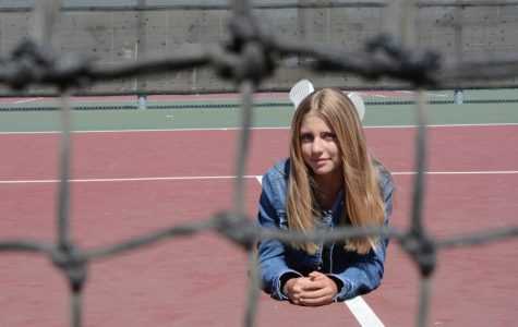 Milana, just 14, is taking the tennis world by storm and hopes to start talking to schools like UCSB and UCLA about being recruited.