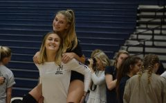 SJHHS Girl's Volleyball Spotlight: Lukes and Mercer