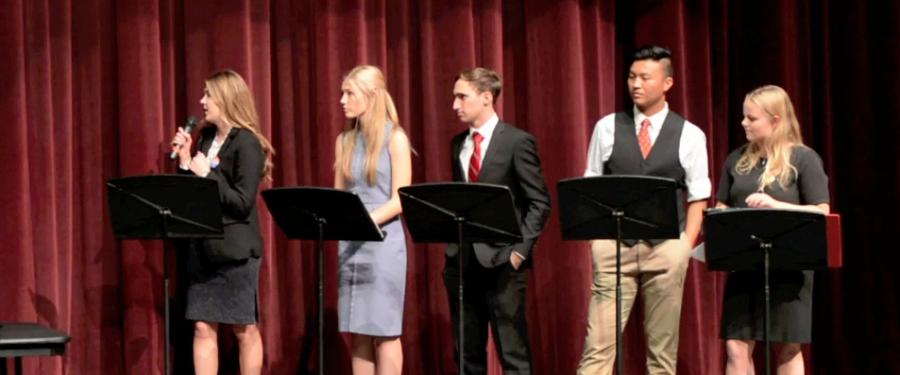 Highlights of SJHHS Young Republicans v. Young Democrats Debate