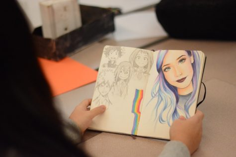 AP Studio Art class Introduced to SJHHS this year