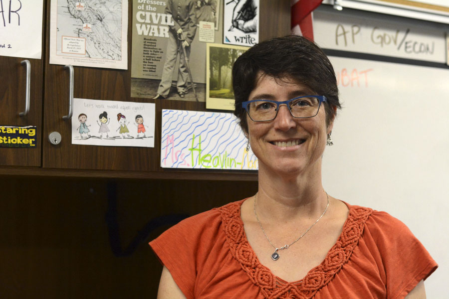 Johanna Heavlin-Martinez teaches social science