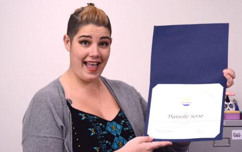 """Danielle Serio Wins """"Extra Miler"""" Award"""