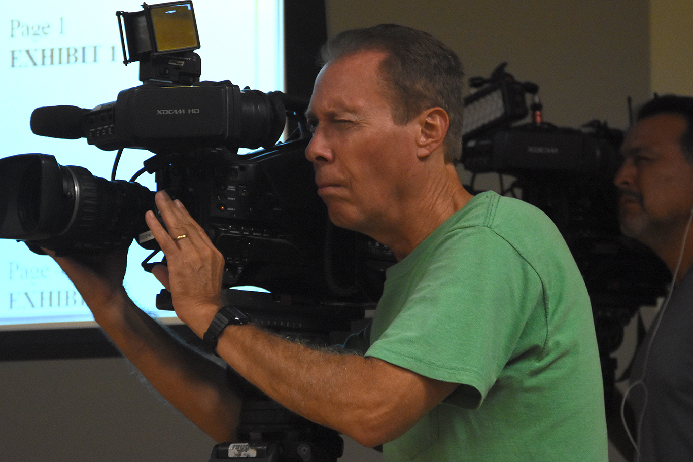 Many major news outlets, including KTLA and ABC were present at the 9/12 board meeting.
