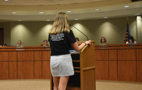 Board Considers New Student Publication Policy