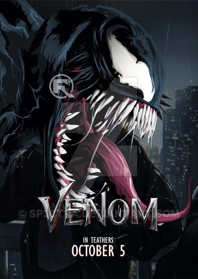 Venom is the first of many movies to be made by both Marvel Studios and Sony Corporation. Art by @sp3ctra on DeviantArt.