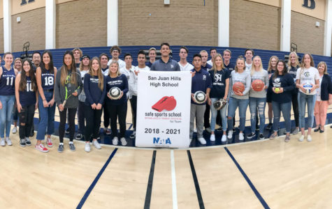 Athletics Scores Student Safety Award