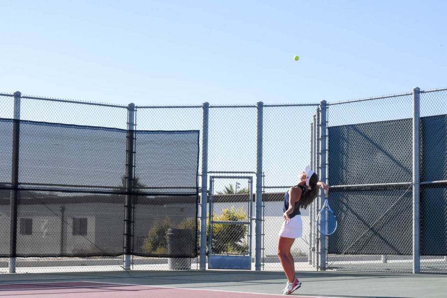 Tennis Rallies to CIF Individuals