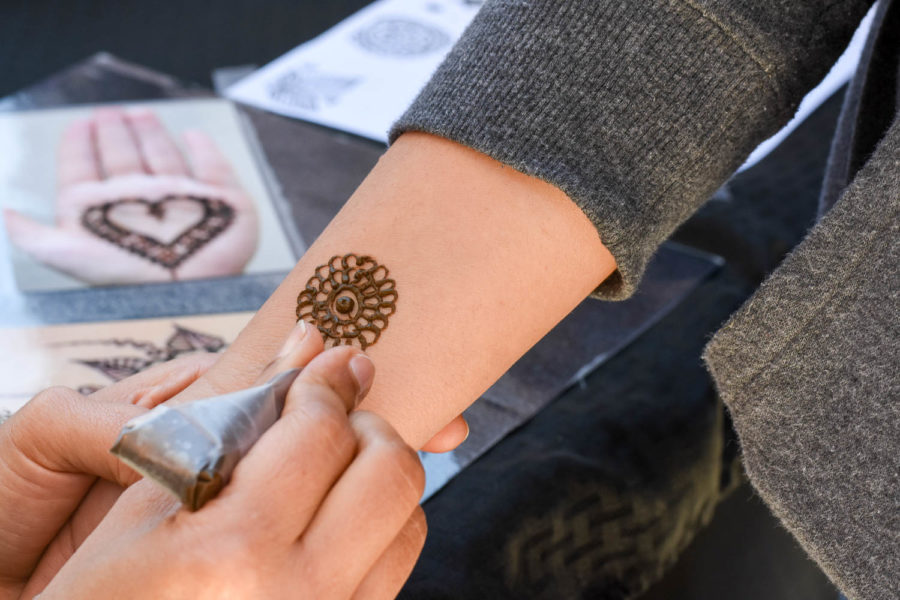 Henna is a form of temporary body art that has been practiced for centuries. It can be used to dye hair, fingernails, skin, leather, and wool.
