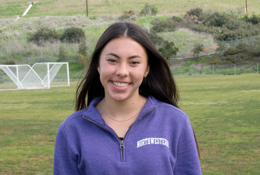 Jennifer McGuire (10) committed to Northwestern University and is a club soccer player at OC Surf. She is excited to compete on their soccer team in 2021.