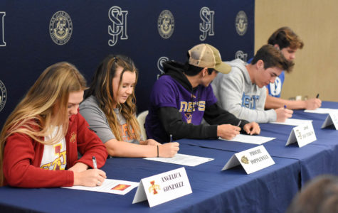 Athletes Sign Their National Letter of Intent