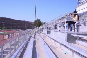 The Badlands is the stadium that holds the home football games, and is made up of two sides of bleachers. In the past, the Badlands has only hosted one graduation.