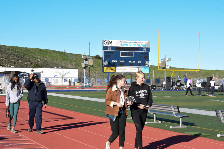Students, teachers, supporters, and pets all gathered in the Badlands on February 23rd to raise awareness for suicide.