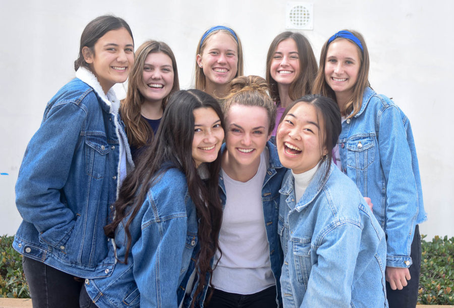 After an anti-semitic incident at Newport Harbor High School, students took action to show their disapproval. Students at SJHHS joined the movement and wore all blue to support the Jewish community.