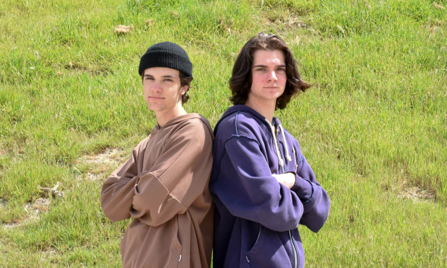 Twin Brothers Shootin' Easy on District Hockey Team