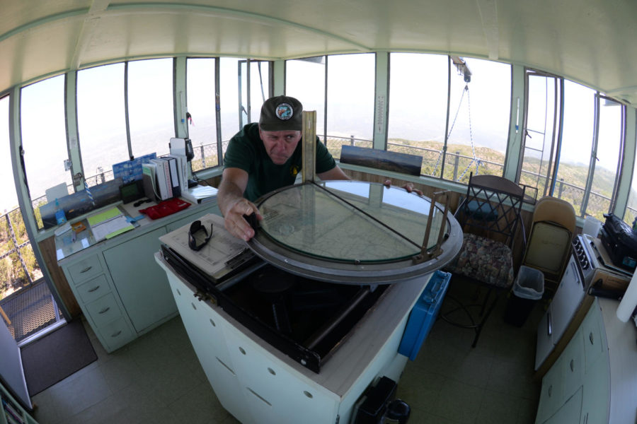 Teacher Helps Revive the Role of Fire Lookouts