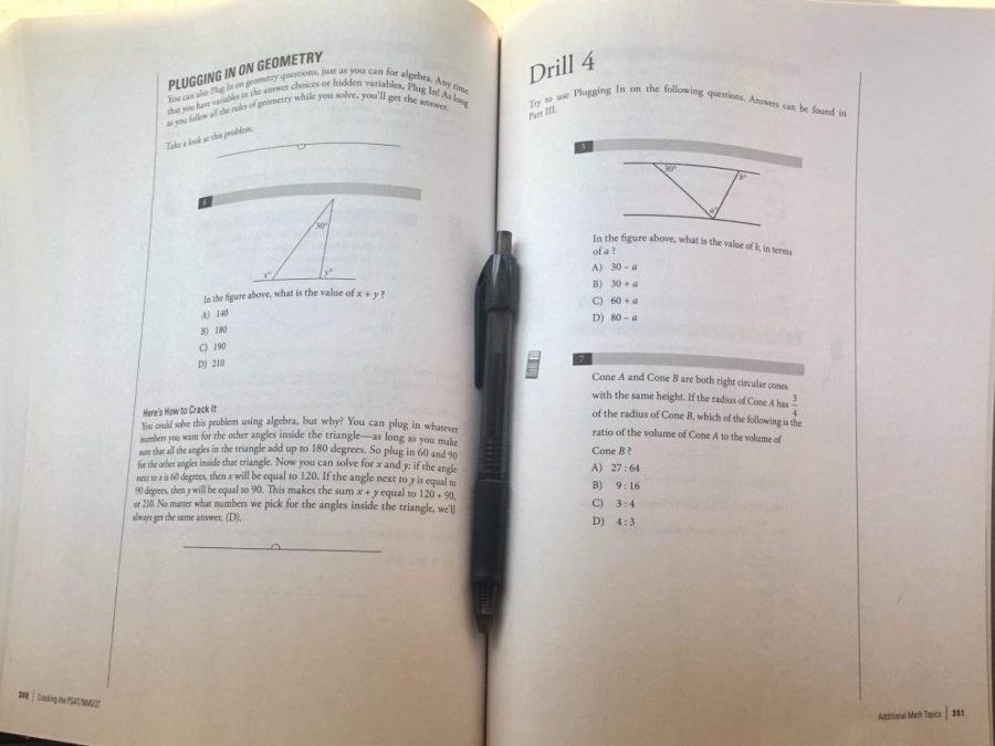 For many students, they prepare for the SAT and ACT by using test prep books, such as this one, filled with tips and tricks on how to get a few extra points. However, lots can't afford them leaving them with less preparation than more affluent peers and one of the reasons why these students tend to do poorer on standardized tests.