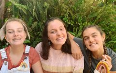 Grace (10), Natalie (9), and Maddie Jo (7) Chapman take photos for their Etsy shop, CHAPS handmade. The sisters started their shop mid July, and have received immense success since its launch.