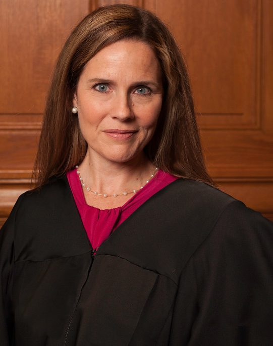 Amy Coney Barrett is Trump's nominee to fill Ruth Bader Ginsburg's seat after her passing. A favorite among the religous right, if Barrett  is confirmed by the Senate she would tilt the Supreme Court further to the right.