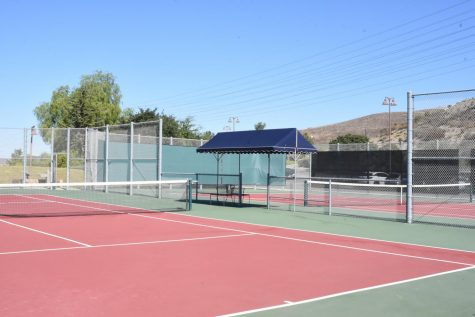 While the tennis courts on campus appear to vacant, players will bounce back into action as tryouts take place at the end of the month and as team practices safely begin again.