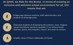 The new rebranding was presented at a virtual staff meeting to help publicize the statement.