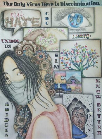 Sisters Bring Awareness to Discrimination With an Award Winning Art Piece