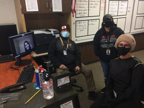 Feature editor Nikki Iyer virtually chats with campus supervisors Earl Pagal, Adrianna Lopez, and Kim Jenson about their roles on campus during COVID-19 in-person learning.