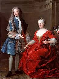 18th century royalty displays the peak of 18th century fashion. The dresses and the jewelry all came together for a great outfit.
