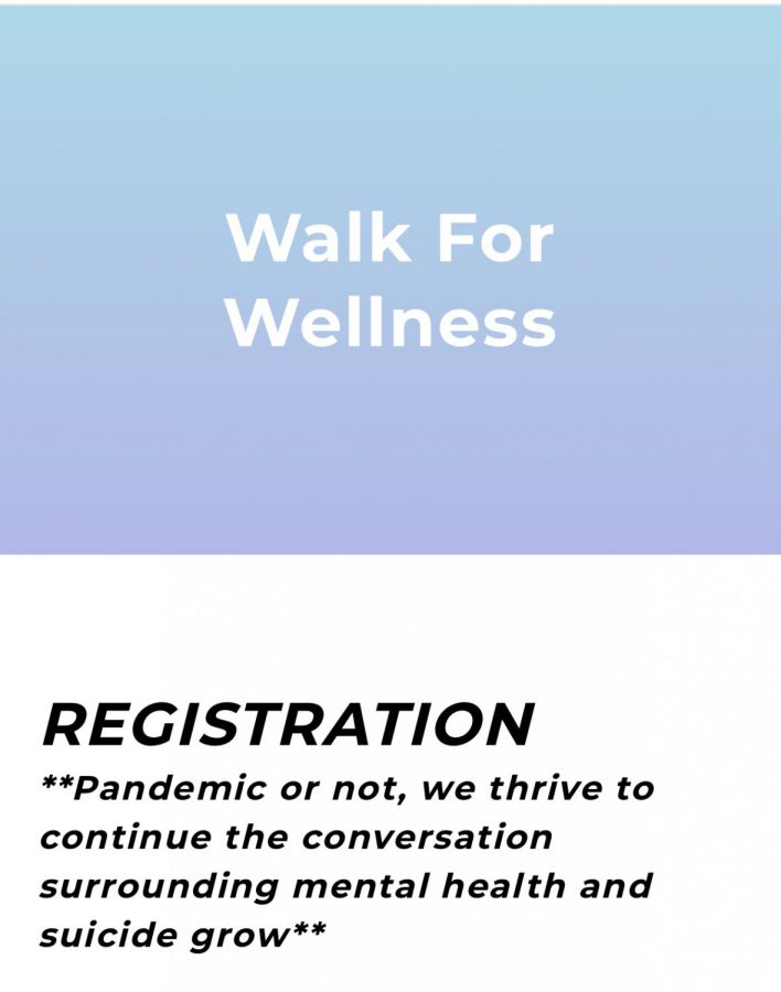 Picture from the SOS website, which includes all of the information regarding registration and organization of Walk For Wellness this year.
