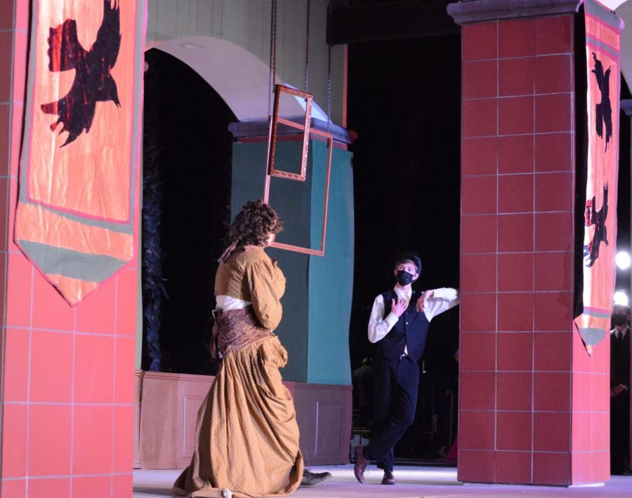 The+theatre+department+had+both+mask-wearing+during+the+play+and+an+outdoor+performance+as+a+way+to+hold+the+production+while+at+the+same+time+remaining+safe.