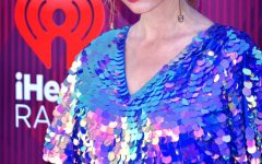 This image shows singer-songwriter at the iHeartRadio music awards in 2019. This was following the release of her album