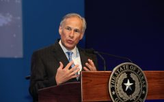 Pictured is Governor Greg Abbott of Texas, one of the two governors who tried to issue a statewide ban on mask mandates in school districts.