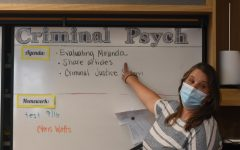 Criminal psychology teacher, Colleen Magaña, has been teaching the course since it first became available at the school starting the 2020-21 school year.