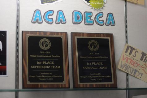 The SJHHS Academic Decathlon team succeeded in the virtual competition held last year and became the first team from CAPOUSD to make it to the state division.
